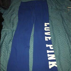 Light flare track pants